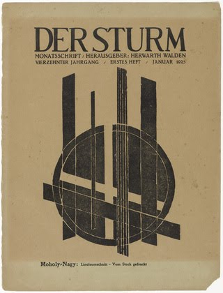 Der Sturm magazine (Composition) (ohne Titel (Komposition)) from the periodical Der Sturm, vol. 13, no. 1 (Jan 1923)